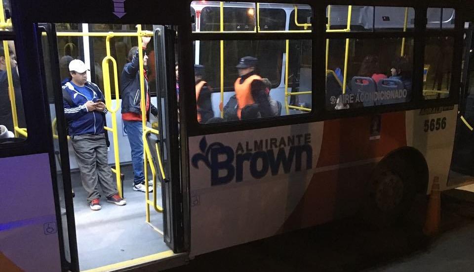 En Alte. Brown se realizan más de 60 operativos semanales de control de colectivos