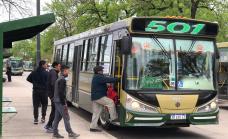 El municipio puso en funcionamiento dos nuevos ramales para las líneas 501 y 506