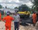 Cascallares destacó el avance de numerosas obras de asfalto en localidades y barrios